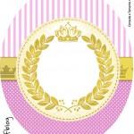 Tubete Oval Coroa de Princesa