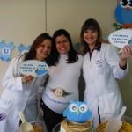 Tema: Chá de Bebê Corujinha Azul – Festa da Leitora Mariana Medeiros!
