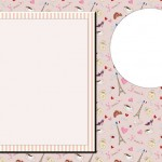 Paris Romântico – Kit Completo com molduras para convites, rótulos para guloseimas, lembrancinhas e imagens!
