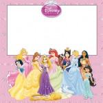 Princesas Disney (Todas Juntas) – Kit Completo com molduras para convites, rótulos para guloseimas, lembrancinhas e imagens!