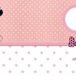 Minnie Rosa – Kit Completo com molduras para convites, rótulos para guloseimas, lembrancinhas e imagens!