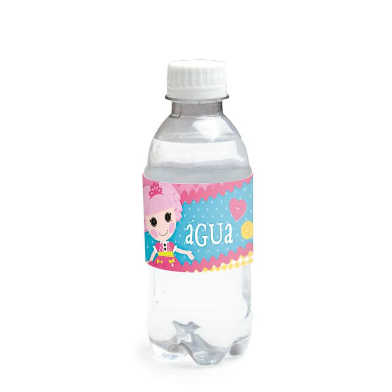 Adesivo para água do Tema Lalaloopsy: