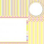 Amarelo e Rosa – Kit Completo com molduras para convites, rótulos para guloseimas, lembrancinhas e imagens!