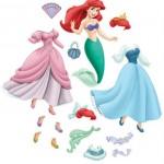 Bonecas Princesas para recortar e brincar!