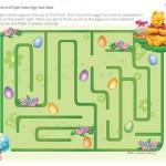 Labirinto de Páscoa do Pooh!