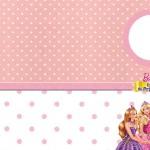 Barbie Escola de Princesas – Kit Completo com molduras para convites, rótulos para guloseimas, lembrancinhas e imagens!