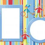Circo Palhacinhos Malabaristas – Kit Completo com molduras para convites, rótulos para guloseimas, lembrancinhas e imagens!