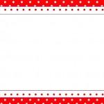 Fundo de Joaninha – Kit Completo com molduras para convites, rótulos para guloseimas, lembrancinhas e imagens!