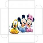 Caixinhas do Mickey e da Minnie