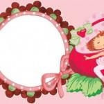 Moranguinho Bailarina – Kit Completo com molduras para convites, rótulos para guloseimas, lembrancinhas e imagens!