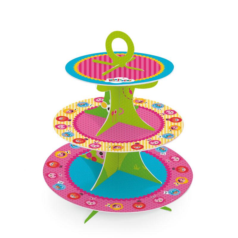 Torre de Cupcakes Lalaloopsy: