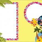 Festa Menina Havaiana – Kit Completo com molduras para convites, rótulos para guloseimas, lembrancinhas e imagens!