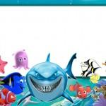 Nemo – Kit Completo com molduras para convites, rótulos para guloseimas, lembrancinhas e imagens!
