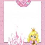Princesa (Não Disney) – Kit Completo com molduras para convites, rótulos para guloseimas, lembrancinhas e imagens!