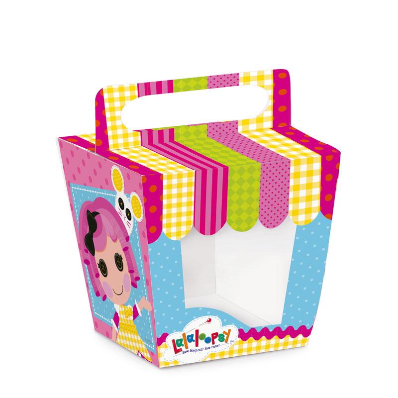 Caixa Pote Cupcakes Lalaloopsy: