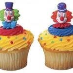 Cupcakes de Palhaços!