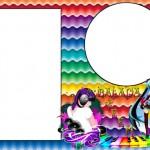 Balada Teen Menina – Kit Completo com molduras para convites, rótulos para guloseimas, lembrancinhas e imagens!