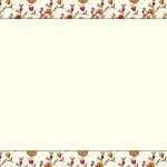 Flores e Listras – Kit Completo com molduras para convites, rótulos para guloseimas, lembrancinhas e imagens!