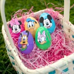 Adesivos Mickey, Minnie e sua Turma para Páscoa!