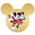 Enfeites Mickey e Minnie para Árvore de Natal