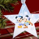 Estrela de Natal Mickey e Minnie