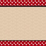 Fundo Oriental Japonês – Kit Completo com molduras para convites, rótulos para guloseimas, lembrancinhas e imagens!