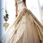 Vestidos de Noiva Dourados!