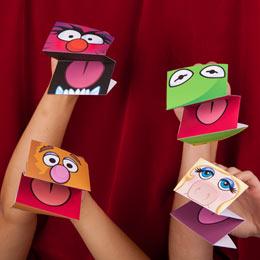 Fantoches De Papel Dos Muppets