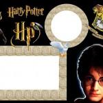 Harry Potter – Kit Completo com molduras para convites, rótulos para guloseimas, lembrancinhas e imagens!