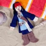 Boneco Jack Sparrow!