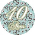 40 Anos – Mini Kit de Rótulos!