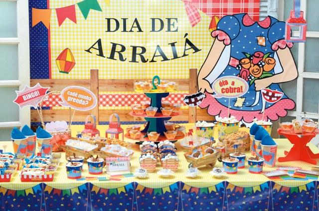 Decoração Mesa Festa Junina: