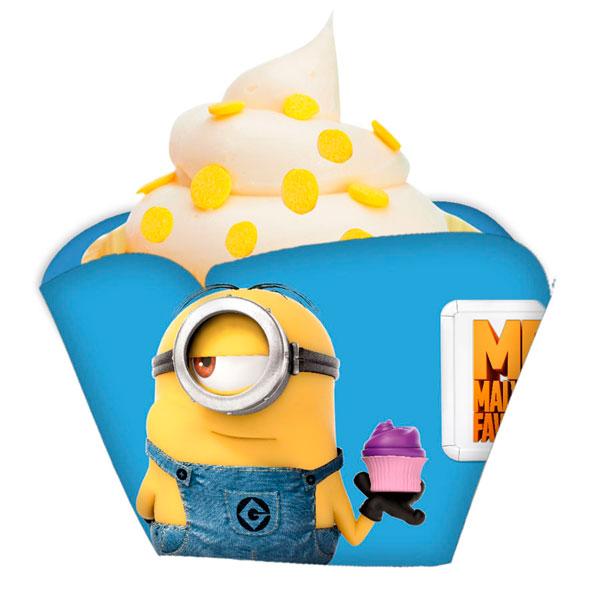 Wrappers para Cupcakes Meu Malvado Favorito: