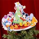 Enfeite do Mickey para o topo da árvore de natal