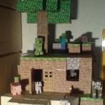 Bonecos 3D do Minecraft!