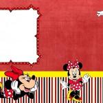 Minnie Vermelha – Kit Completo de molduras para convites, rótulos de guloseimas, lembrancinhas e imagens