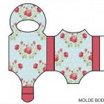 Moldes de Body para Lembrancinhas de Chá de Bebê e Nascimento!