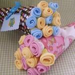 Como Fazer Bouquet de Toalhinhas!