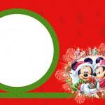 Natal Mickey e Minnie – Kit Completo de molduras para convites, rótulos para guloseimas e lembrancinhas!