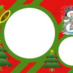 Natal – Kit Completo com molduras para convites, rótulos para guloseimas, lembrancinhas e imagens!