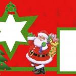 Papai Noel – Kit Completo com molduras para convites, rótulos para guloseimas, lembrancinhas e imagens!