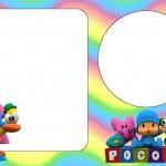 Pocoyo – Kit Completo com molduras para convites, rótulos para guloseimas, lembrancinhas e imagens!