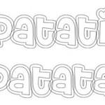 Livrinho para Colorir Patati Patata