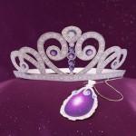 Tiara e Amuleto da Princesinha Sofia para Recortar e Imprimir!