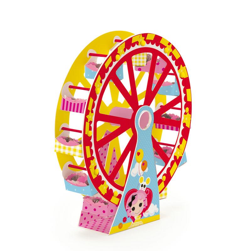 Suporte para docinhos em forma de roda gigante: