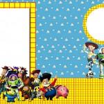 Toy Story – Kit Completo com molduras para convites, rótulos para guloseimas, lembrancinhas e imagens!