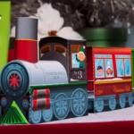 Trem Natalino 3D para Recortar, Imprimir e Montar!