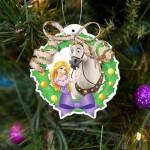 Enfeites para Árvore de Natal das Princesas da Disney!