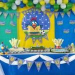 Tema: Galinha Pintadinha na Copa – Festa da Leitora Cibelle de Souza Paiano Pereira!
