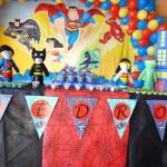 Tema: Liga da Justiça – Festa da Leitora Rosane Berthold!